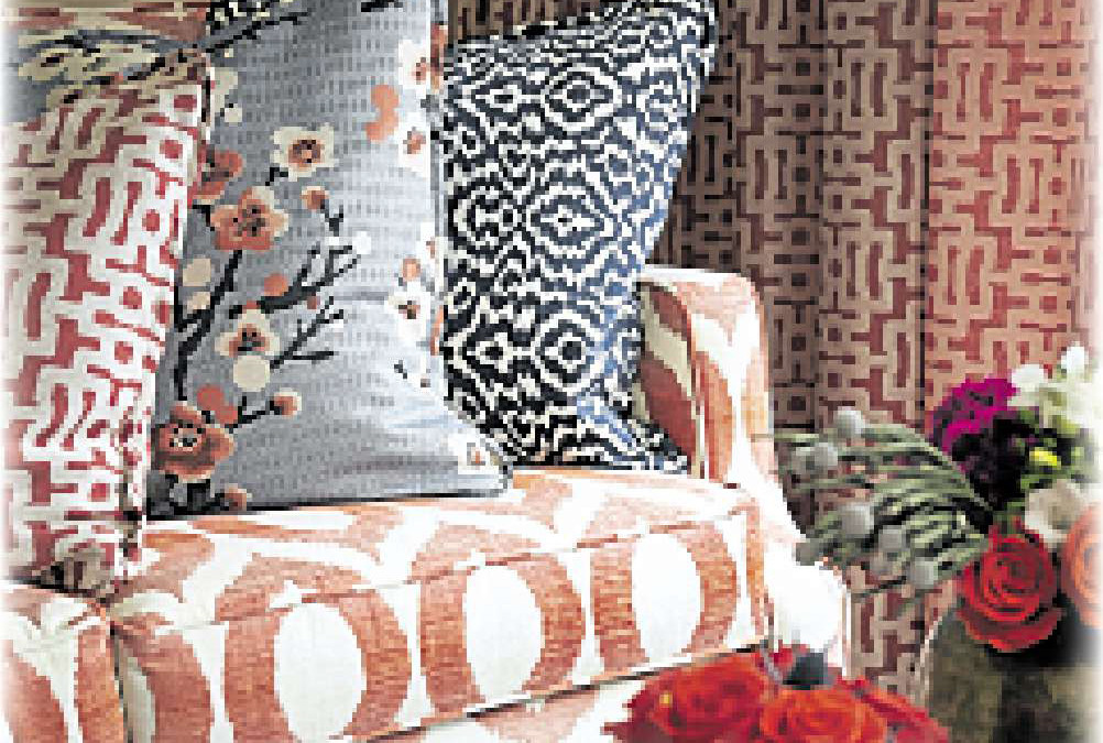 Fabrics unlock key to great looking room