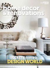 Home Decor & Renovations September 2015