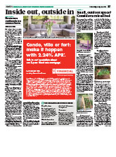 Outdoor Spaces Metro - Special Report May 5 2016
